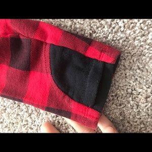 Tops - Buffalo Plaid double hoodie